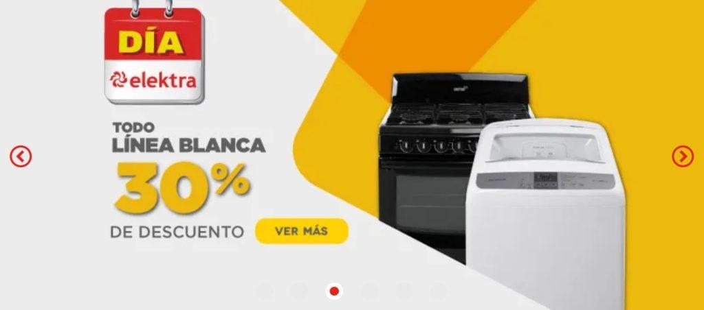 Elektra Oferta Línea Blanca Mayo 18