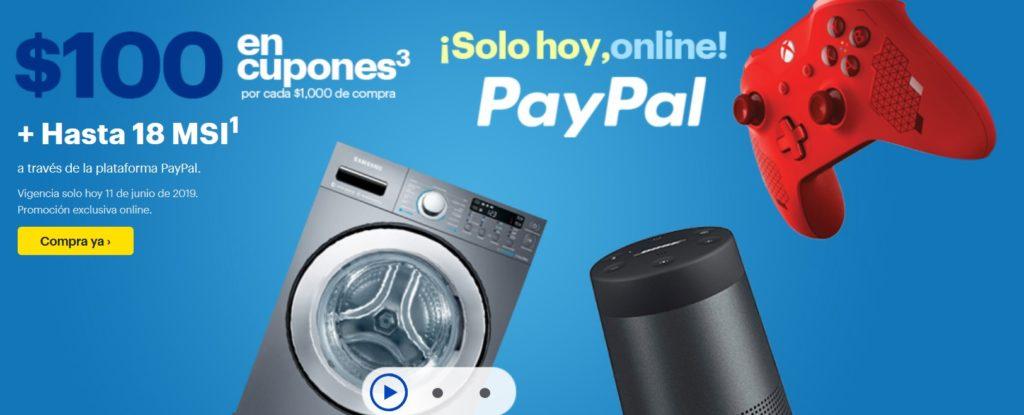 Best Buy Promoción PayPal Junio 11