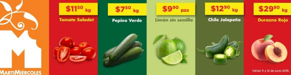 Chedraui Ofertas Frutas y Verduras Junio 11