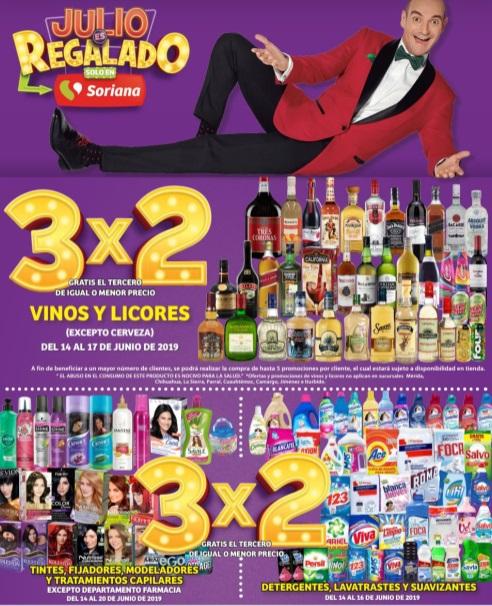 Julio Regalado 2019 Folleto de Ofertas Junio 14 al 20