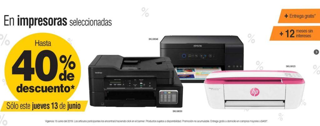 OfficeMax Oferta Impresoras Seleccionadas