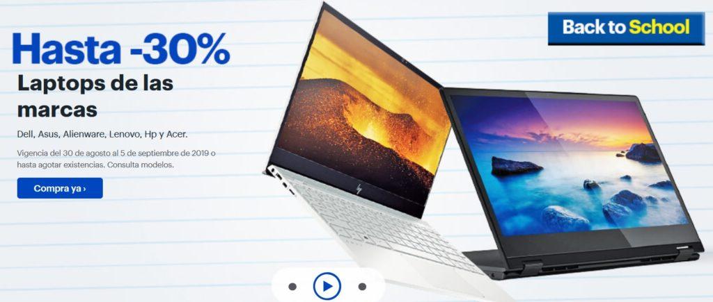 Best Buy Oferta Laptops Marcas Seleccionadas Septiembre 4