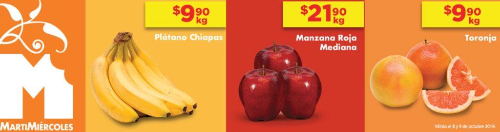 Chedraui Ofertas Frutas y Verduras Octubre 8