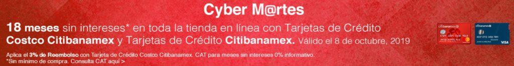 Costco Cyber Martes Citibanamex Octubre 8