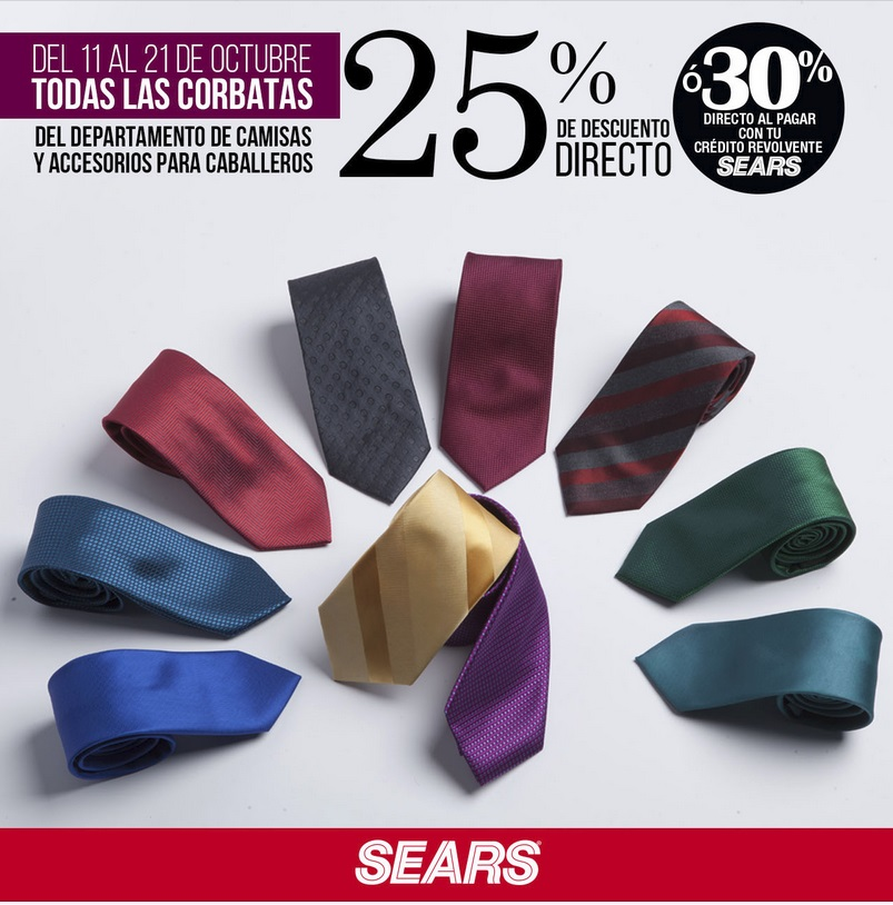 Sears Oferta Corbatas