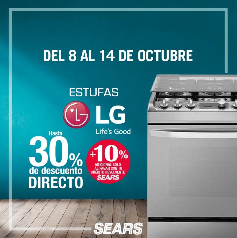 Sears Oferta Estufas LG