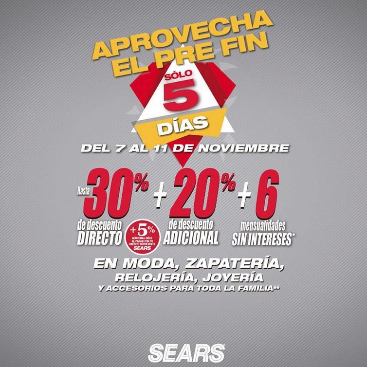 Sears Ofertas Moda, Zapatería y Más