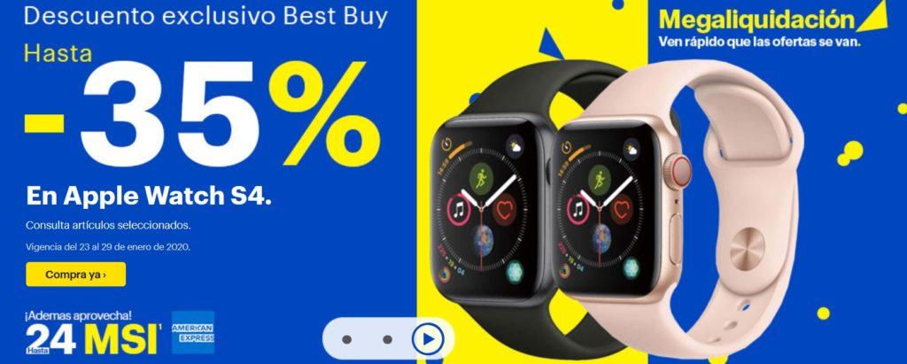 Best Buy Oferta Apple Watch S4