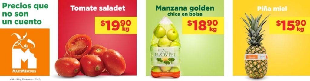 Chedraui Ofertas Frutas y Verduras Enero 28