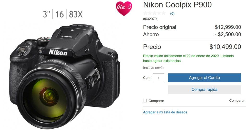 Costco Oferta Nikon Coolpix P900