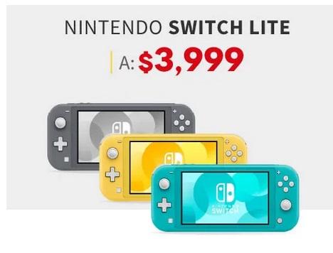 Elektra Oferta Nintendo Switch Lite