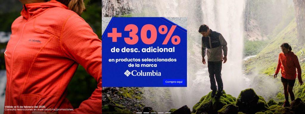 Martí Oferta Producto Seleccionados Columbia