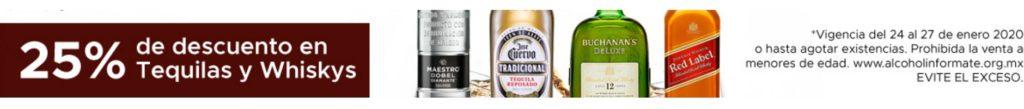Soriana Oferta Tequilas y Whiskiys