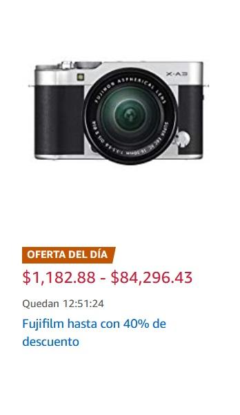 Amazon Oferta Productos Fujifilm