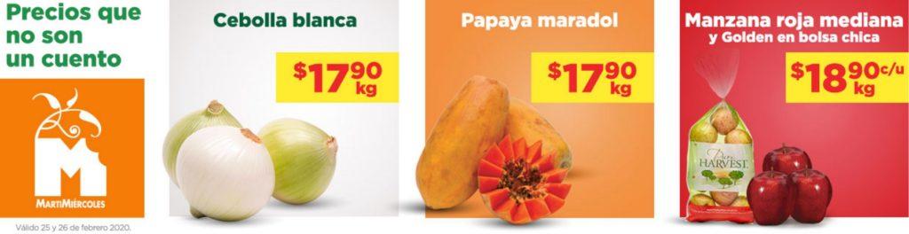 Chedraui Ofertas Frutas y Verduras Febrero 25