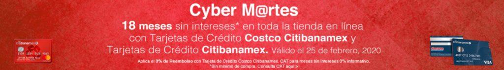 Costco Cyber Martes Citibanamex