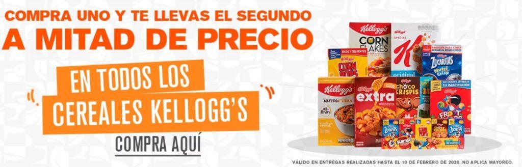 La Comer Oferta Cereales Kellog's