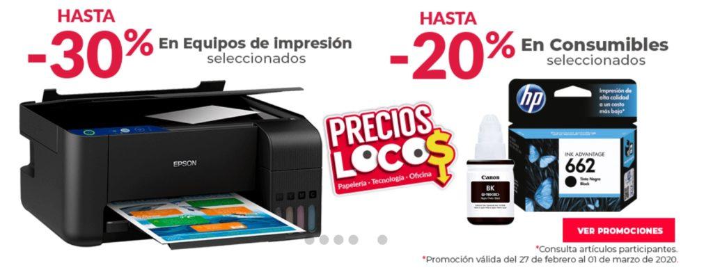Office Depot Oferta Equipos de Impresión y Más