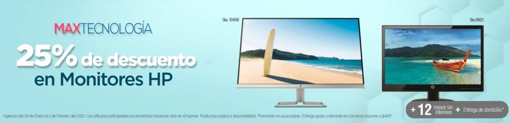 OfficeMax Oferta Monitores Hp