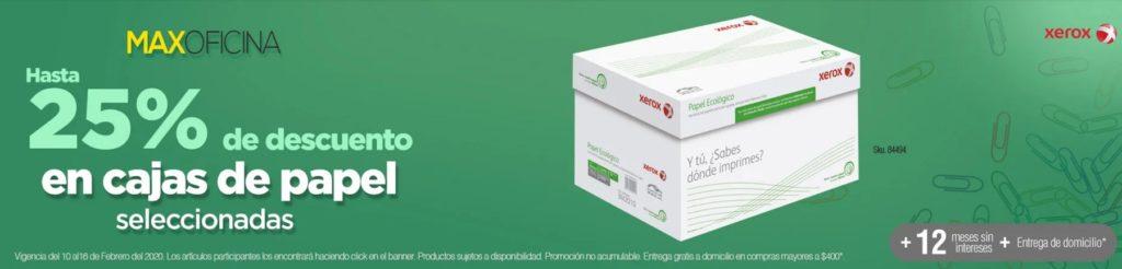 OfficeMax Oferta Cajas de Papel Seleccionadas