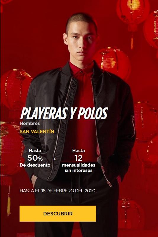 El Palacio de Hierro Oferta Playeras y Polos