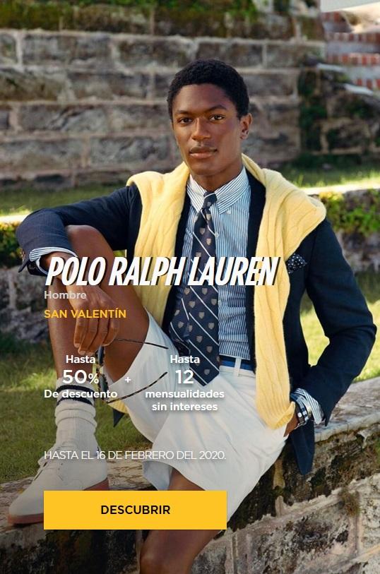 El Palacio de Hierro Oferta Ropa Polo Ralph Lauren