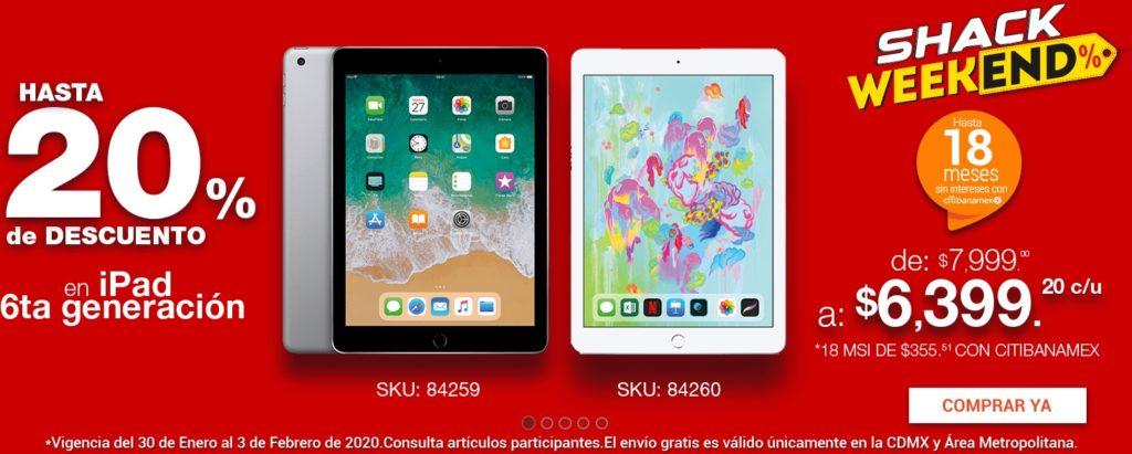 RadioShack Oferta iPad 6ta Generación