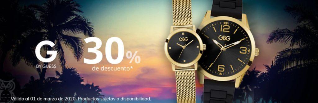 Sanborns Oferta Relojes G by Guess