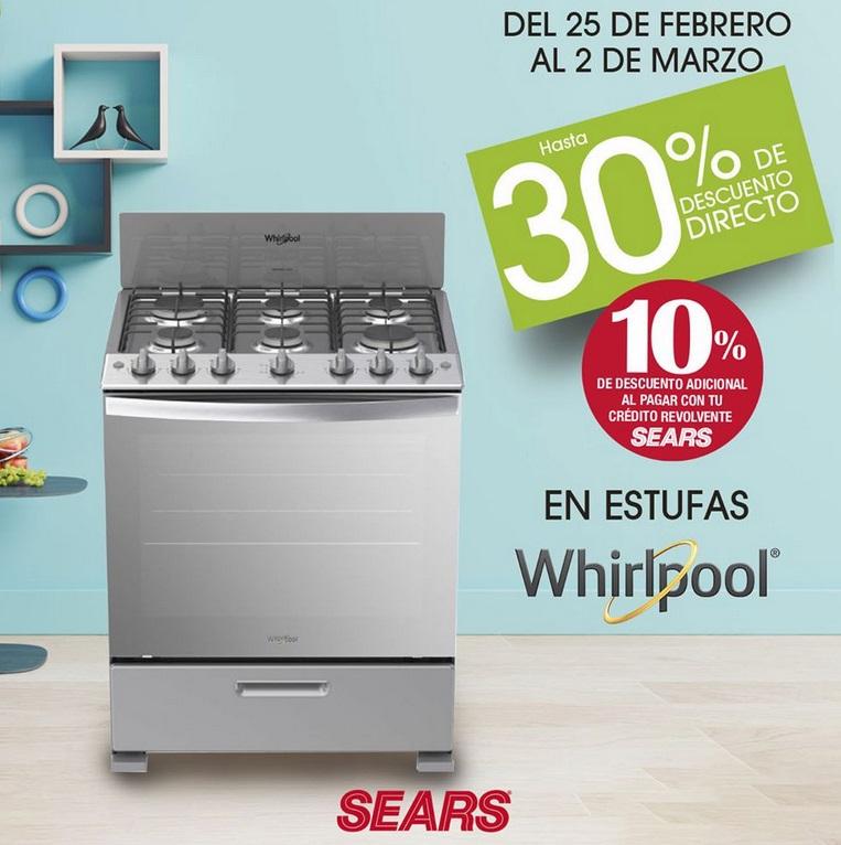 Sears Oferta Estufas Whirlpool