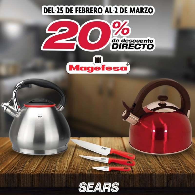 Sears Oferta Magefesa