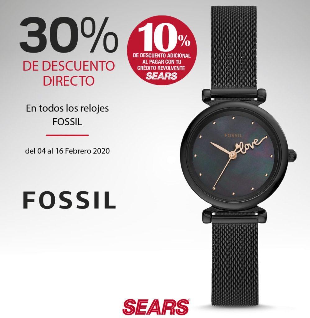 Sears Oferta Relojes Fossil
