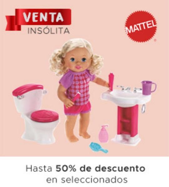 Soriana Oferta Juguetes Seleccionados Mattel