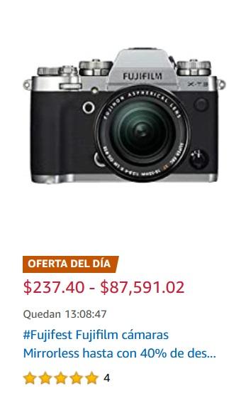 Amazon Oferta Cámaras Fujifilm