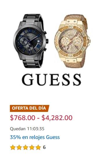 Amazon Oferta Relojes Guess