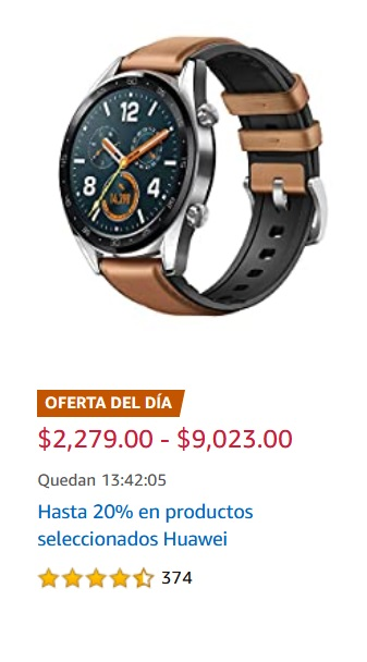 Amazon Oferta Productos Seleccionados Huwaei