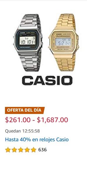 Amazon Oferta Relojes Casio