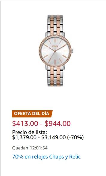 Amazon Oferta Relojes Chaps y Relic