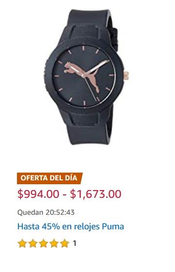 Amazon Oferta Relojes Puma