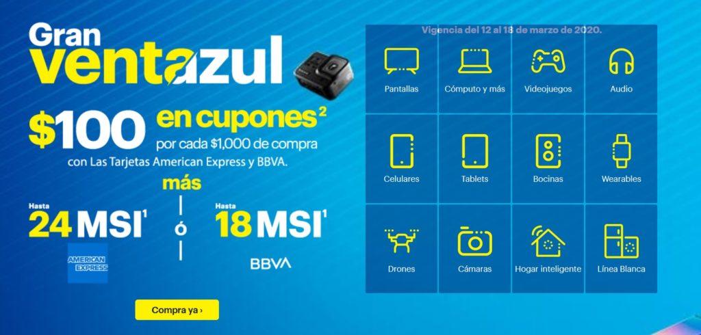 Best Buy Promoción American Express y BBVA