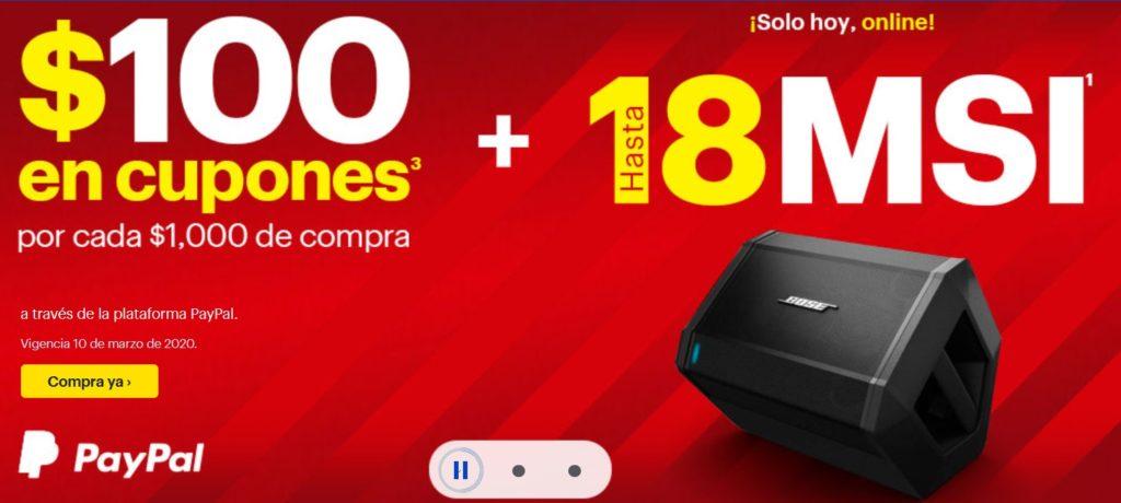 Best Buy Promoción PayPal Marzo 10