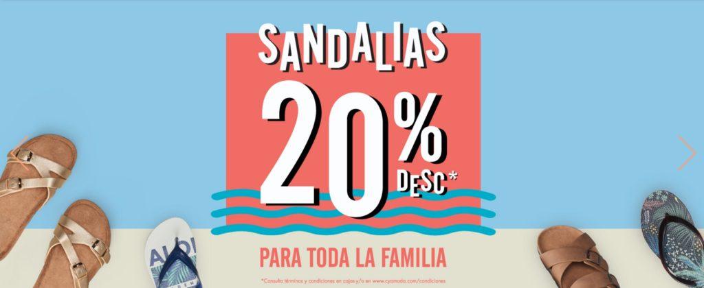 C & A Oferta Sandalias