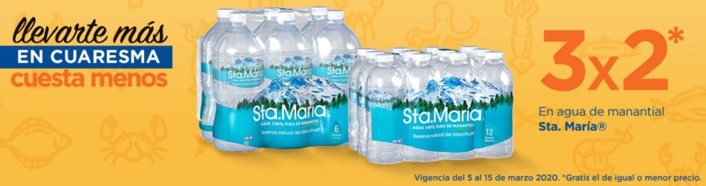 Chedraui Oferta Agua Sta. María