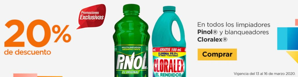 Chedraui Oferta Pinol y Cloralex