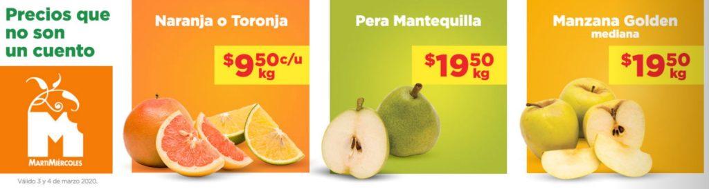 Chedraui Ofertas Frutas y Verduras Marzo 3