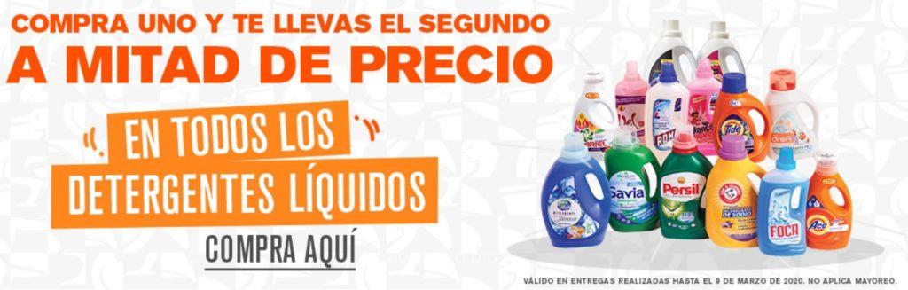 La Comer Oferta Detergentes Liquidos