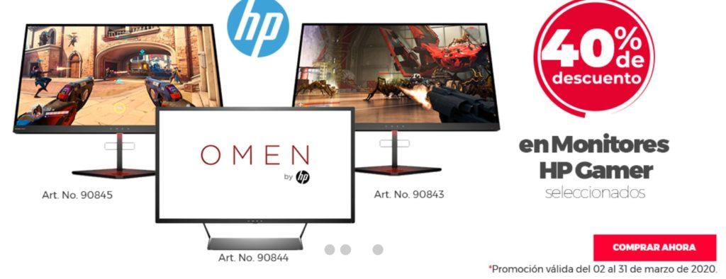 Office Depot Oferta Monitores Gamer Hp