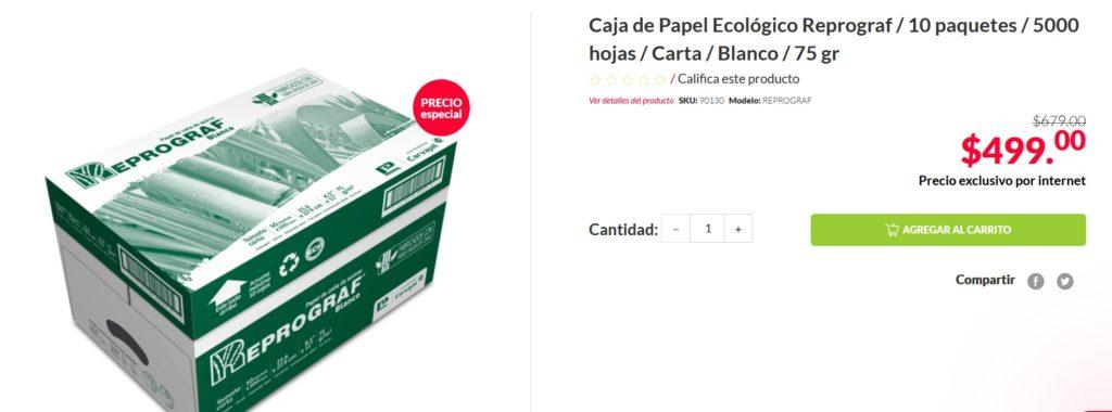 Office Depot Oferta Caja Papel Reprograf