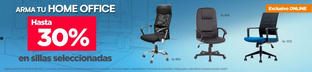OfficeMax Oferta Sillas Seleccionadas