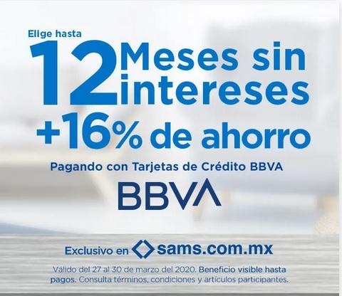Sam's Club Promoción BBVA