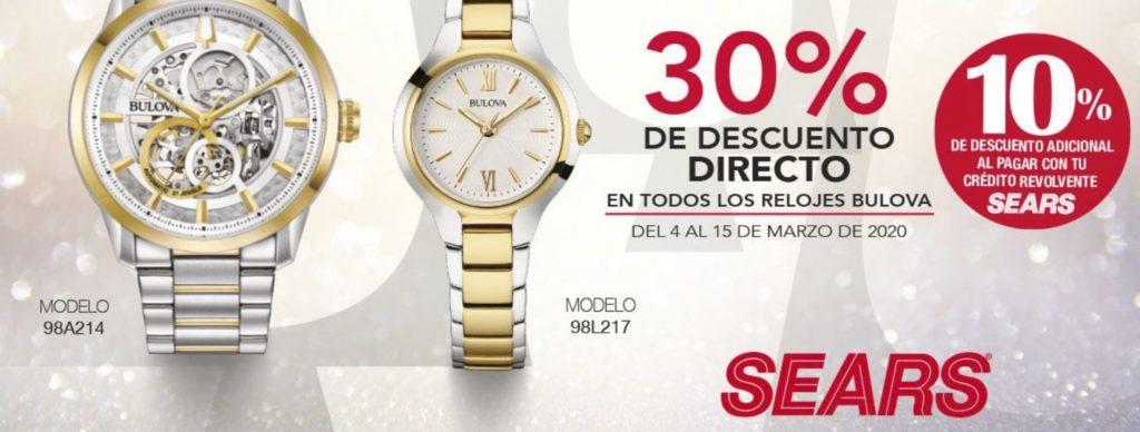 Sears Oferta Relojes Bulova